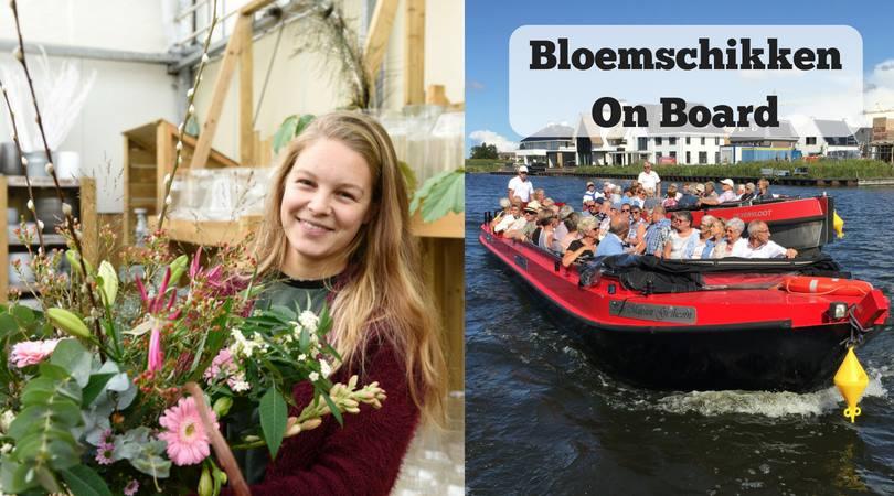 5 juli: Bloemschikken On Board